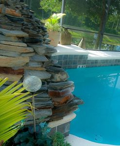 Pool / Waterfall aspect