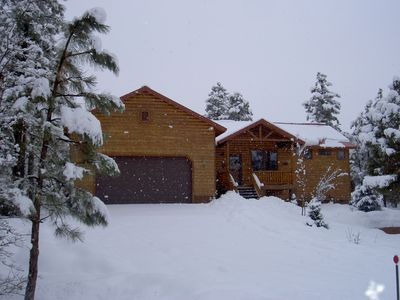 Show Low cabin rental - Winter
