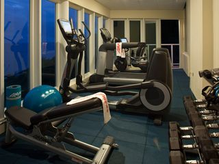 Cruz Bay villa photo - Life Fitness gym