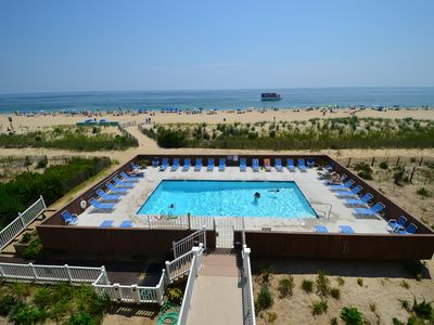 Direct Oceanfront W/Pool - 74th St - Beautiful Views!!