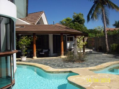 image for Luxury 4-Bedroom Villa in Beachfront Residence, Private Pool And Ping-Pong Table