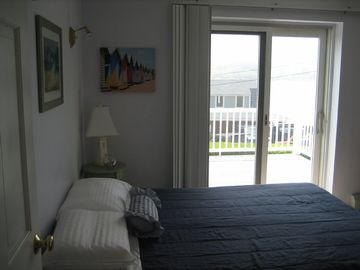 Bedroom with deck access!