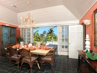 Double Bay estate photo - Dining room with ocean views