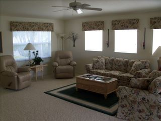Punta Gorda house photo - Large living area with his and hers recliners