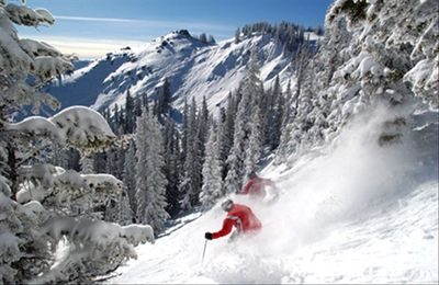 the best skiing in the world