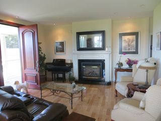 Charlottetown house photo - Living room with propane fireplace, tv and full sound system.