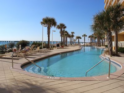 West beachfront pool