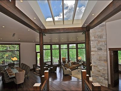 Snowmass Village house rental - Large, open living area