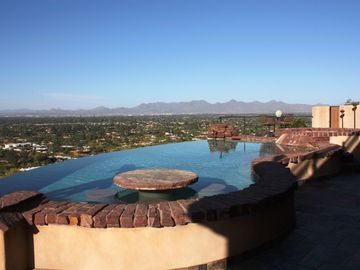 Paradise Valley house rental - What a view!