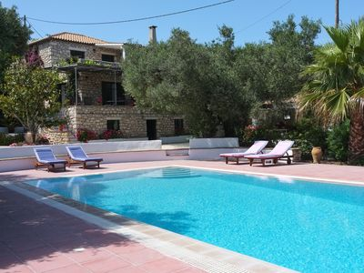AEOLUS and STAVLO - a luxury Greek villa with private pool and gardens.