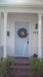 Lodi cottage rental - Front Entry
