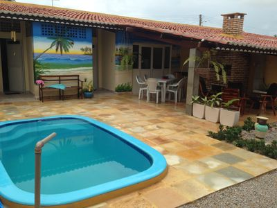 A house with pool treat for weekends Caponga Aguas Belas
