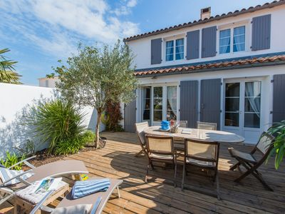 Lovely villa, minutes on foot from the beach in La Couarde