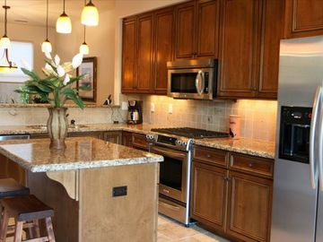 Fully Furnished Gourmet Kitchen - Special welcome treats await your arrival!