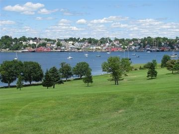 A view of Lunenburg harbour, just a short drive away.