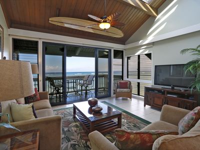 Welcome to our Oceanfront Condo at Kahana Outrigger Resort!