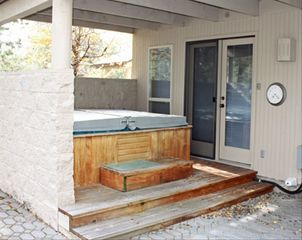 Hot Tub Area - Sunriver house vacation rental photo