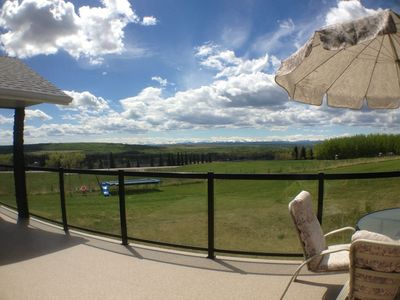 Beautiful view from the deck