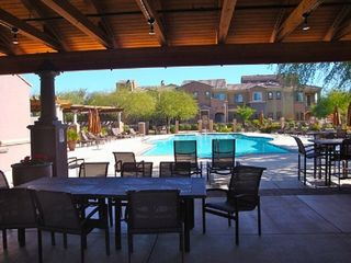 Phoenix townhome photo - Poolside Table