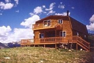 Front of house - Jefferson cabin vacation rental photo