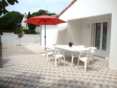 Nice furnished villa for rent in Saint-Georges de Didonne (Royan nearby house)