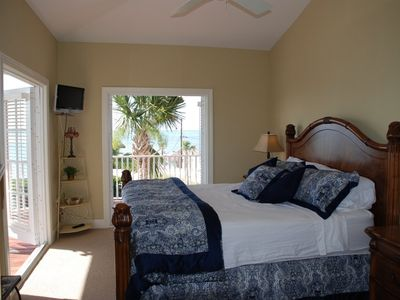 Wake to gorgeous sunrises over the Atlantic from the Master Bedroom!