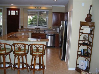 Fully equipped Kitchen with all new stainless steel appliances
