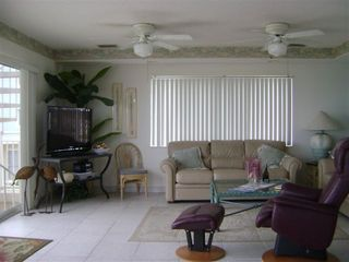 Redington Shores condo photo - living room#2