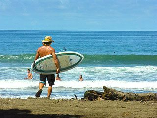 Dominical house photo - Surfing beaches in Costa Rica is a 20 minute walk down