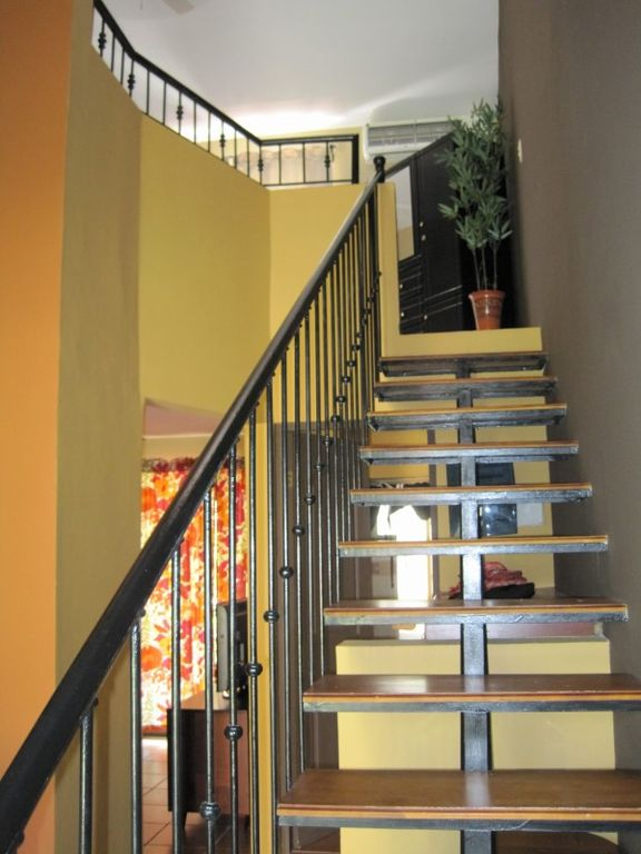 Stairs to the loft