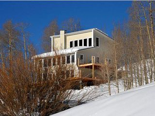 Crested Butte house photo - House in winter