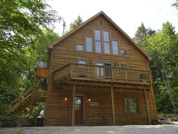 Bryant Pond / Christopher Lake chalet rental - Welcome to First Tracks Chalet!
