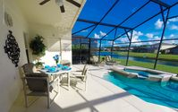Lake View & Luxury 4 Bed Home - Private Pool and Game Room close to Disney!!