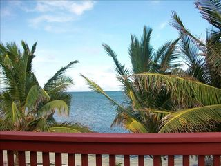 Ambergris Caye house photo - View from the verandah