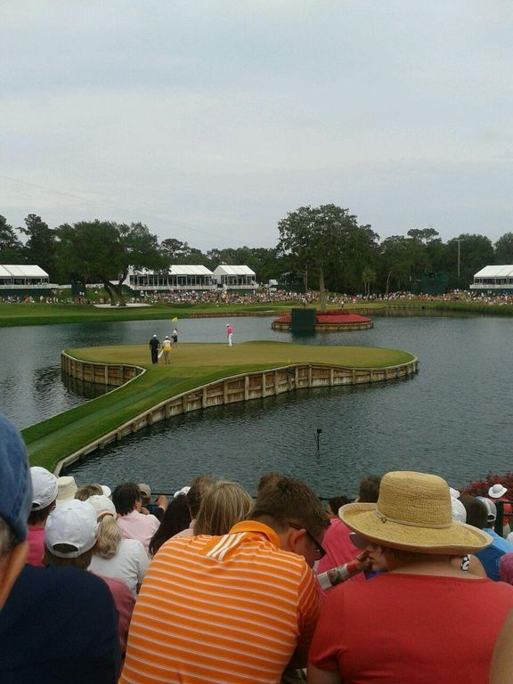 Golf at TPC Sawgrass, try the 17th hole island green & lunch in the clubhouse!