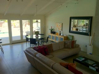 Palm Springs house photo - The Open Floor Plan facilitates the flow in, out, and around.