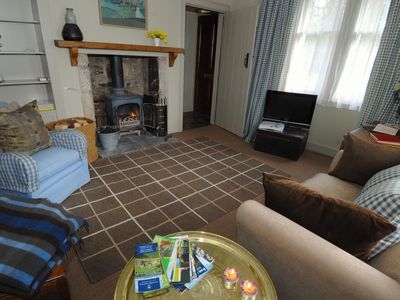 Coldstream cottage rental - Sitting room