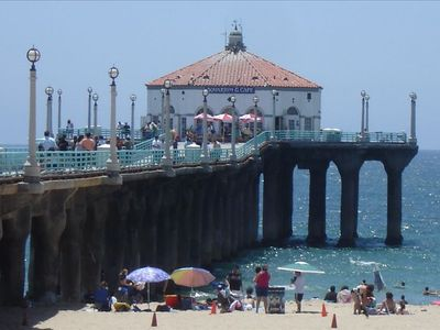 Just steps to the Manhattan Beach Pier!