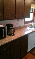 Newfound Lake house photo - New Kitchen Granite of May 2011