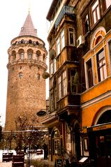 Istanbul apartment photo - Galata Tower one block from flat