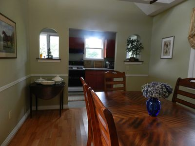 View from Dining Room to Kitchen