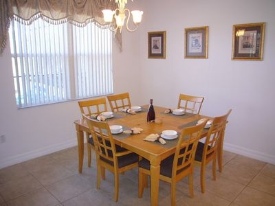 Windwood Bay house rental - Breakfast Nook