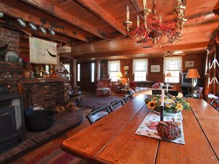 Londonderry farmhouse photo - Dining Area/Wood Stove