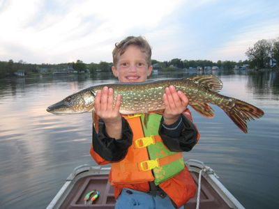 Findley Lake house rental - Northern Pike