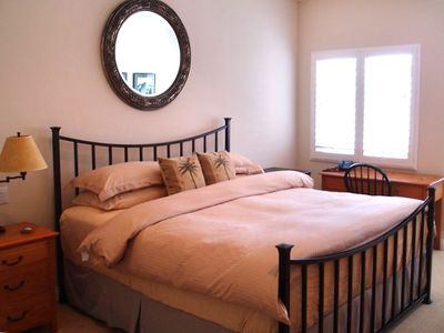 Master suite with King size bed with top of the line mattress and full bath!