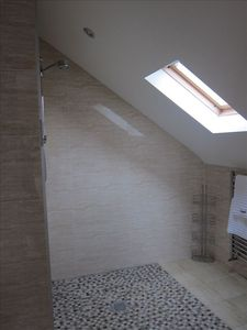 Upstairs shower room (ensuite bathrooms identical upstairs)