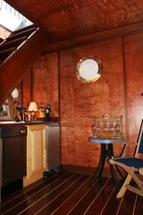Surfside Nantucket house photo - The Captain's Room - Mahogany Floors, Birch Walls & a Wet Bar