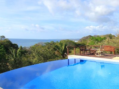 This is a section of the beautiful view, casa Gecko offers.