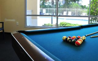 Sun Lake condo photo - Pool table inside resort clubhouse