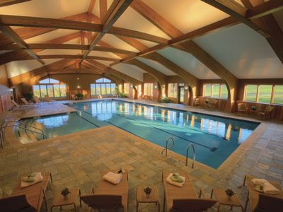 The Fitness Club pool